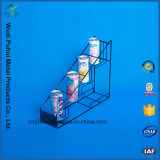 Металлический пол бутылки дисплей для установки в стойку (PHY1058F)
