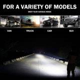 Barre duelle d'éclairage LED de camion tous terrains en gros de 14inch 72W pour la jeep