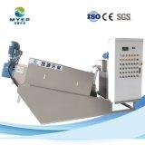 Tratamento de Águas Residuais Química autolimpante parafuso de desidratação de lamas Prensa-filtro
