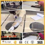 Полированный дешевой Китайской Народной Республики Juparana серого гранита на крышах в левом противосолнечном козырьке для ванной комнаты