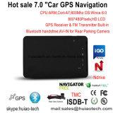 """OEM 7.0 """" Voiture IPS Chariot Marine Navigation GPS avec transmetteur FM, AV-in de la caméra arrière, système de navigation GPS de poche pour téléphone mobile, Bluetooth, TMC Tracker, TV"""