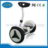 2 عجلة لوح التزلج كهربائيّة مع مقبض قضيب و [بلوتووث]