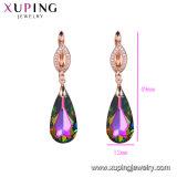Dessins et modèles de cuivre de l'environnement Xuping Earrings Bijoux de cristaux de Swarovski Elements