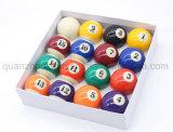 OEMの高品質の樹脂のアメリカのスヌーカーのビリヤードボール