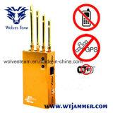 Leistungsfähiger goldener beweglicher Handy u. Wi-FI u. GPS-Hemmer