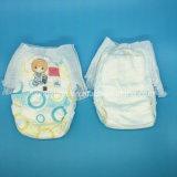 工場安い価格によって印刷される赤ん坊はおむつのズボンを抜く