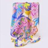 Пользовательские моды мягкой чистой шелковые шарфы для леди