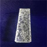 Bastone di cristallo dalla decorazione della parete del blocco per grafici della foto