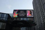 LED de exterior Dot Matrix Display Tela anúncios de banner