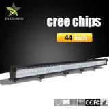 Aluminiumnicht für den straßenverkehr 2 Reihen PUNKT anerkannter LED des gehäuse-288W heller Stab