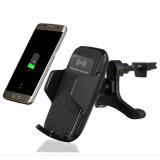 Qi Wireless Cargador Coche titular de la estación de carga rápida/Mount Smart Phone (W8)