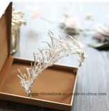 2018 Nova Coroa de cristal personalizado Vidro Rhinestone Stonne casamento dom natalino Tiaras Suite Crown (BC07)