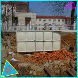 Réservoir de stockage chimique de conteneur industriel de l'eau de réservoir de GRP