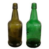 Venda quente Verde Escuro, 500ml de vinho verde antigo vaso de vidro