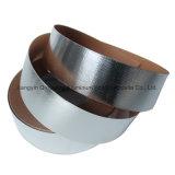Band van de Aluminiumfolie van de Glasvezel van het reflectievermogen de Zilveren Hittebestendige