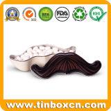 Formato de cranio Hallowmas Dom Latas de armazenamento de produtos de confeitaria para Candy doces