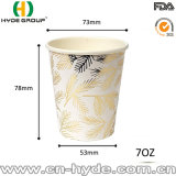 Taza de papel disponible de 7 onzas Sun