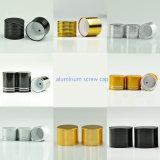 5-10mlblack frasco conta-gotas de vidro de alumínio