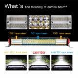 4 LEIDENE van het Systeem van de Verlichting van de rij 384W 22inch Auto Lichte Staaf