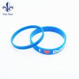 La conception personnalisée de la promotion bracelet en silicone