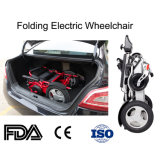 This Approval Aluminum Al Folding camera Electric Power Wheelchair