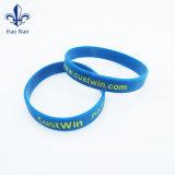 A fábrica barato bracelete personalizado da Pulseira de Silicone