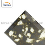 中国ミラーのガラスモザイクBacksplashは黒く旧式なミラーガラスのタイルをタイルを張る