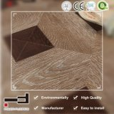 ドイツの技術の芸術のペイスト・アップの浮き出しの寄木細工の床の積層物によって薄板にされるフロアーリング