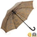 Maniglia supplementare classica dell'amo dell'ombrello degli uomini diritti aperti della pioggia dell'automobile