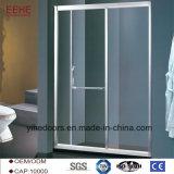 Cabina de cristal del sitio de ducha de la puerta del sexo de los cuartos de ducha del masaje