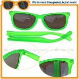 Moda verde brilhante estilo escaldantes Mens Óculos 2018