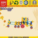 Brinquedos plásticos educacionais da instrução das crianças do carro do brinquedo