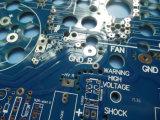 Fabbricazione 3.2mm della scheda del PWB dalle 6 once a strati con la mascherina blu