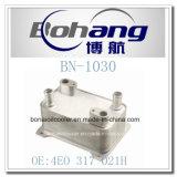 Refrigerador de petróleo auto de VW de los recambios de Bonai/Radiatot (4EO 317021H)