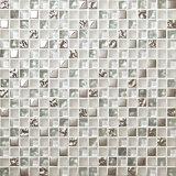 Fabrik-neues Produkt-Kristallglas-Mosaik-Fliese für Badezimmer