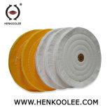 100%のステンレス鋼または金属のマットの仕上げをポーランド語ための純粋な綿布の磨く車輪