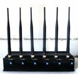 6antenna tutto in uno per tutto il cellulare, GPS, WiFi, Lojack, Walky Talky, VHF, stampo dell'emittente di disturbo di frequenza ultraelevata