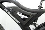 Bicicleta eléctrica del MEDIADOS DE mecanismo impulsor de 7 velocidades con el freno de disco hidráulico