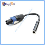Câble haut-parleur audio 6.35mm TS à TS 6,35 mm Plug
