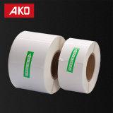 """(50.8mm*25.4m m) la mata blanca 2 """" *1 """" etiqueta la etiqueta engomada auta-adhesivo de la capa revestida termal conveniente para la impresora de la cebra"""