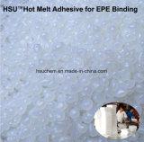 EPEの結合のためのエヴァ透過白いHotmeltの接着剤