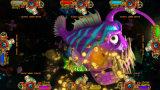 Tabella del gioco della galleria della macchina del gioco di pesca della galleria del giocatore di attacco 4 dello squalo