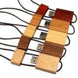 Movimentação instantânea do USB 2.0 creativos de madeira do colhedor do presente do USB