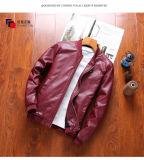 다색 간단한 소형 차가운 가죽 재킷