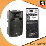 15 Spreker pS-3315bbt van de FM DSP van de duim de PRO100W USB BR Plastic Actieve (DSP)