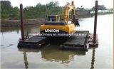Escavadeira de anfíbio 20t com freio hidráulico Pontoon Barato preço de venda