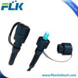FTTH Fibra Óptica exterior IP67 Odva-LC conector impermeable resistente