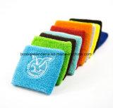Sweatband su ordinazione della manopola del Terry del cotone del ricamo dei prodotti dell'OEM della fabbrica