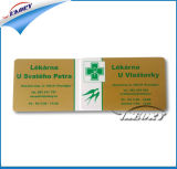 Tarjeta de encargo del PVC de la calidad de miembro de la lealtad del VIP de la dimensión de una variable