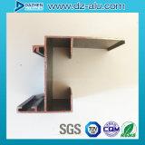 Het aangepaste OEM Libië Liberia Profiel van het Aluminium voor de Schuifdeur van het Raamkozijn